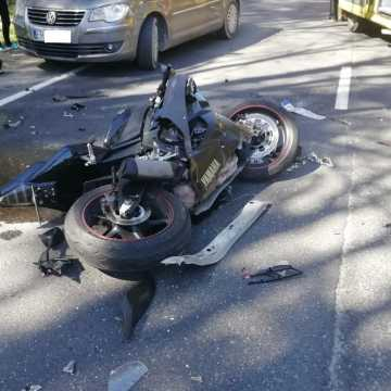 Nie żyje 19-latka, ranna w wypadku motocykla