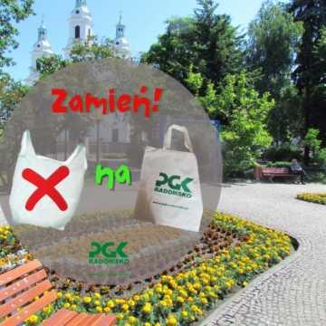 PGK Radomsko zachęca: zamień foliówkę na torbę materiałową