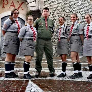 Harcerze z Radomska na obchodach 75. rocznicy bitwy o Monte Cassino