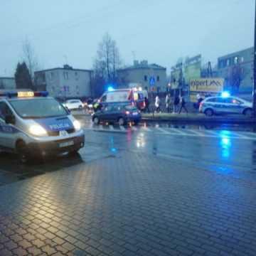 Potrącony pieszy na pasach w Radomsku