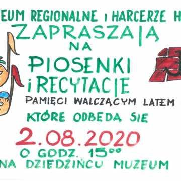 Piosenki i recytacje pamięci walczącym latem 1944 r. w Muzeum w Radomsku