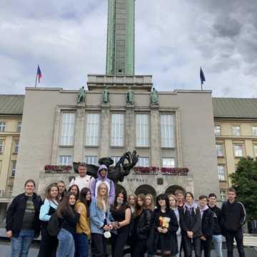 Zakończenie praktyk zagranicznych uczniów z Drzewniaka