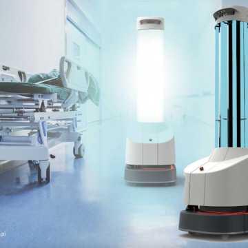 Robot UVD będzie dezynfekować radomszczański szpital