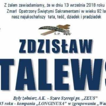 Pożegnają Zdzisława Witalewskiego