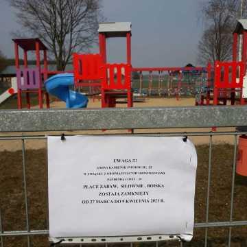 Obiekty sportowo-rekreacyjne w Kamieńsku zamknięte
