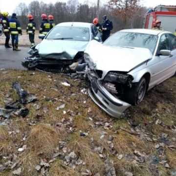 Wypadek w gminie Masłowice