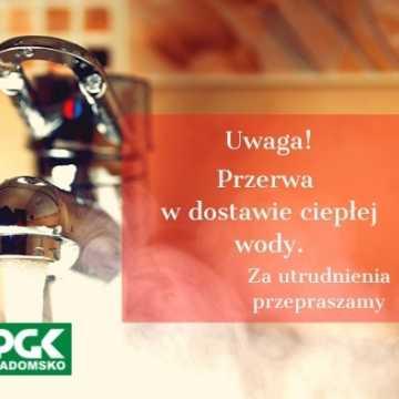 Przerwa w dostawie energii cieplnej na ul. Nowej, Słonecznej, Pustej i Wyszyńskiego