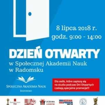 Dzień Otwarty w Społecznej Akademii Nauk w Radomsku