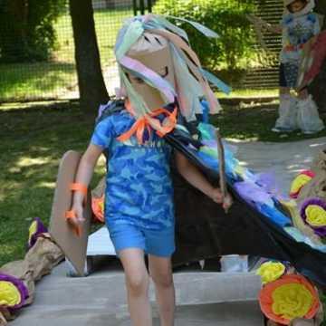 Dzieci z przedszkola na 10 w Radomsku znają się na modzie - ekologicznej
