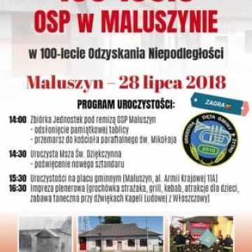 100 lat OSP Maluszyn