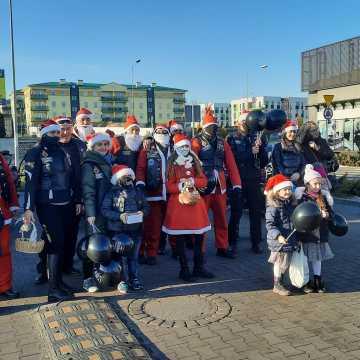 Mikołaje na motocyklach przejechali przez Radomsko