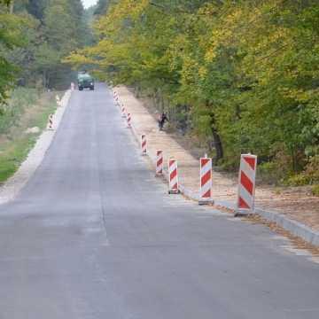Powiat bełchatowski: droga Grobla - Kluki - będą utrudnienia