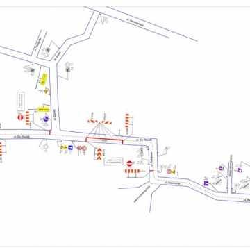 Zmiana organizacji ruchu w Radomsku: ulica św. Rozalii – jednokierunkowa