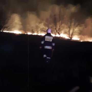 Aż 9 pożarów traw w miniony weekend
