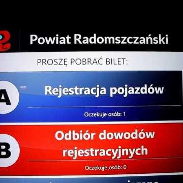 Biletomat ma usprawnić rejestrację pojazdów w starostwie w Radomsku
