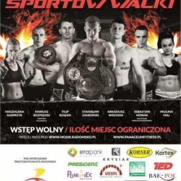 Oficjalne ważenie przed Radomszczańską Galą Sportów Walki