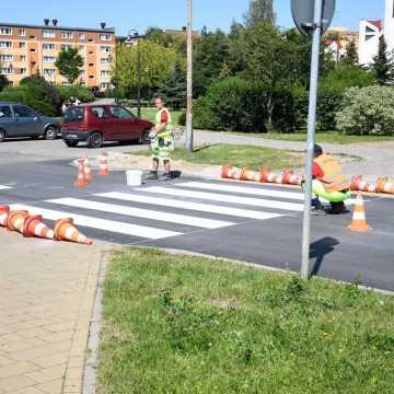 Piotrków Tryb.: dobiega końca remont ul. Belzackiej