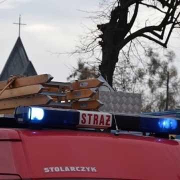 Pożar mieszkania przy ul. Przedborskiej w Radomsku