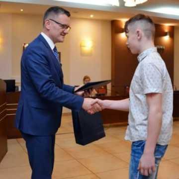 Sportowcy powiatu radomszczańskiego wyróżnieni