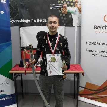 Wiktor Blada strzela z sukcesami