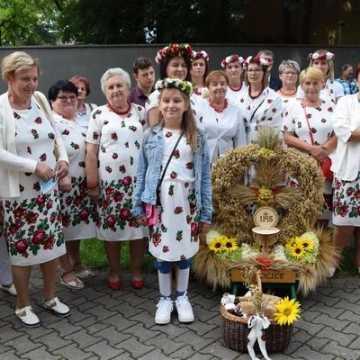Parafialne święto plonów w Kamieńsku