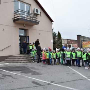 Przedszkolaki z wizytą u Burmistrza Kamieńska