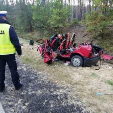 Śmiertelny wypadek na DK91. Zginęły cztery osoby
