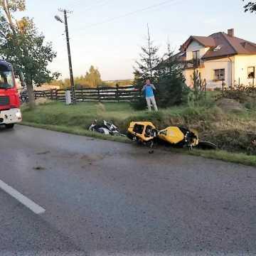 Gm. Kamieńsk: nie żyje 23-letni motocyklista