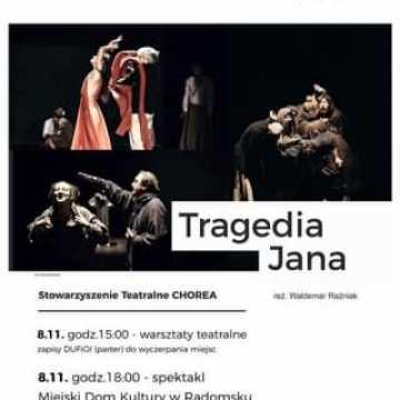 Teatr Polska w Radomsku. Są jeszcze wolne miejsca na warsztaty