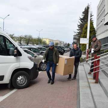 Trwa dystrybucja maseczek dla mieszkańców Radomska