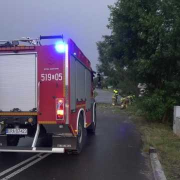 Najnowszy bilans skutków burzy w powiecie radomszczańskim