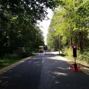 Trwa przebudowa drogi Przedbórz-Piskorzeniec