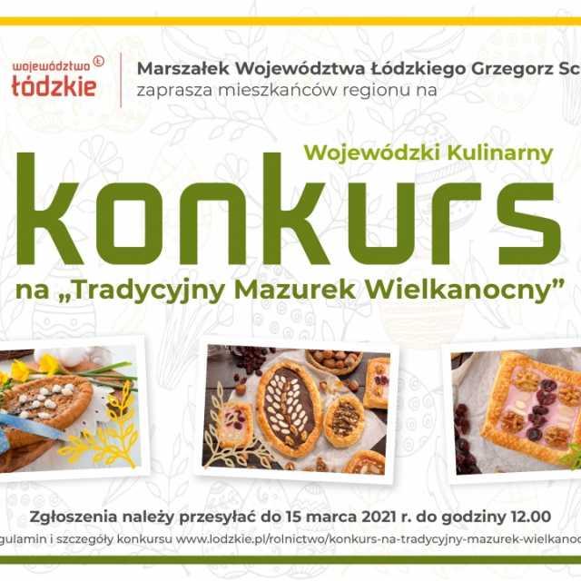 Najsmaczniejsze mazurki w Łódzkiem. Weź udział w wielkanocnym konkursie Urzędu Marszałkowskiego