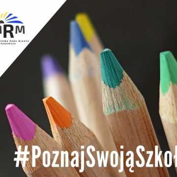 Młodzieżowa Rada Miasta Radomska rozpoczęła akcję #PoznajSwojąSzkołę