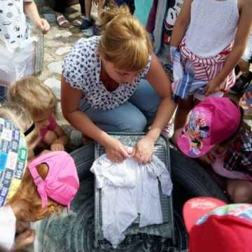Wizyta przedszkolaków w Zagrodzie Tatarskiej