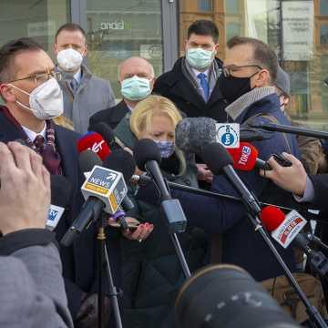 W Łodzi uruchomiono szpital tymczasowy dla chorych na COVID-19