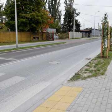 Dobiegła końca rozbudowa ul. Św. Rozalii i Kraszewskiego w Radomsku