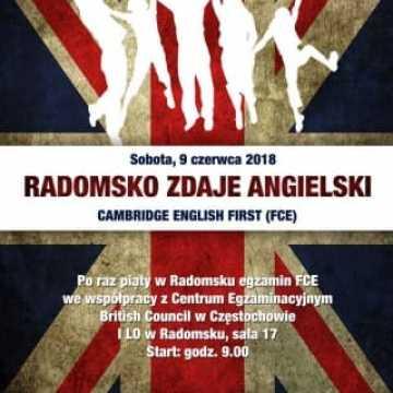 V edycja Radomsko Zdaje Angielski
