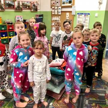 Wieczór szalonych piżam w przedszkolu nr 9 Radomsku