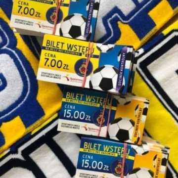 Bilety na mecz z Legią II Warszawa już w sprzedaży
