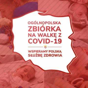 Trwa ogólnopolska zbiórka pieniędzy na walkę z koronawirusem