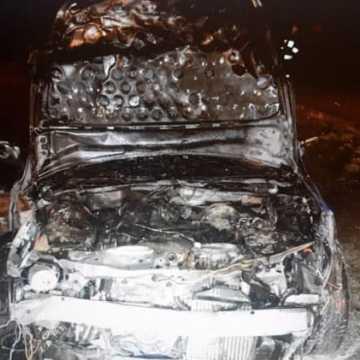 Zderzenie na Borkach. Zapaliły się samochody