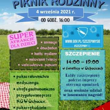 Piknik rodzinny wraz z KGW w Ochocicach