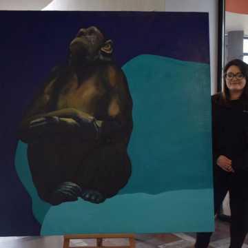 W Galerii V prace Niki Kuliś
