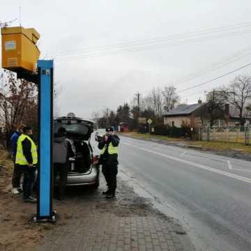 Przy PSP nr 5 w Radomsku zamontowano fotoradar