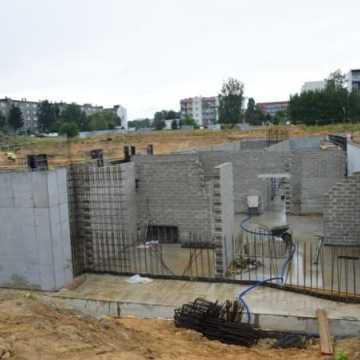 Zdjęcia z budowy basenu w Radomsku