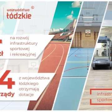 Łódzkie wspiera sport. Dotacje otrzymają m.in. samorządy z powiatu radomszczańskiego