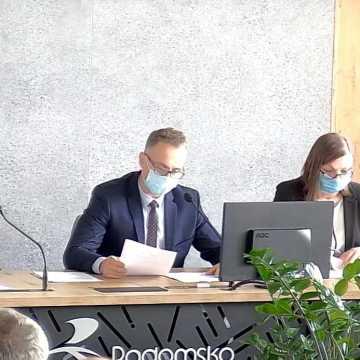Rafał Dębski nie jest już przewodniczącym Rady Miasta w Radomsku