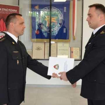 Artur Bartosik pełni obowiązki zastępcy komendanta PSP w Radomsku