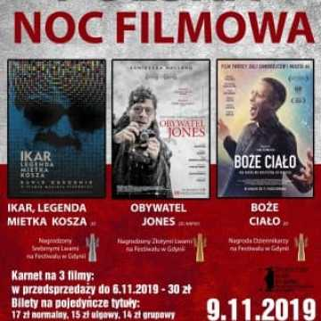 Polska Noc Filmowa w MDK w Radomsku